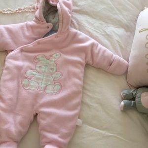Baby warm winter suit